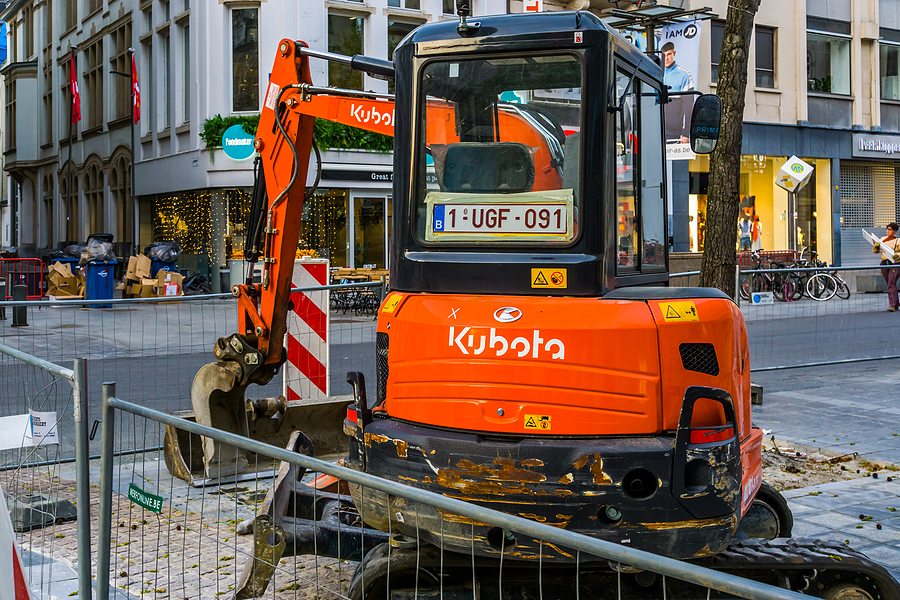 Types Of Projects Mini Excavators Are Used For